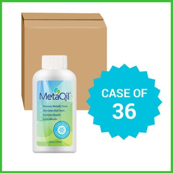 Case of 36 2-oz bottles of MetaQil