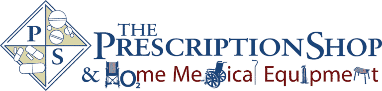 The Prescription Shop logo