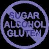 alcohol-free.sugar-free.gluten-free